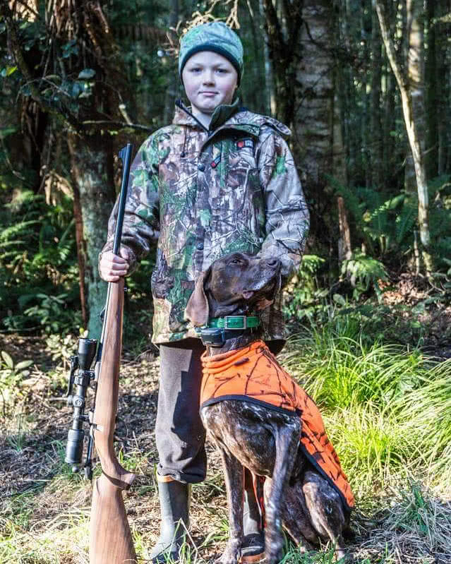 Love the young hunters